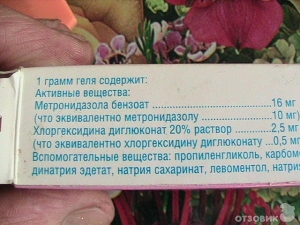 метрогил дента инструкция