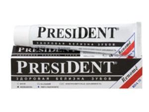 отбеливающая паста президент